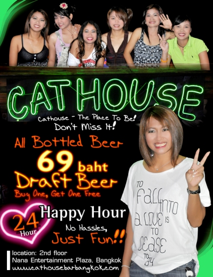 CATHOUSE BAR, NANA PLAZA, BANGKOK