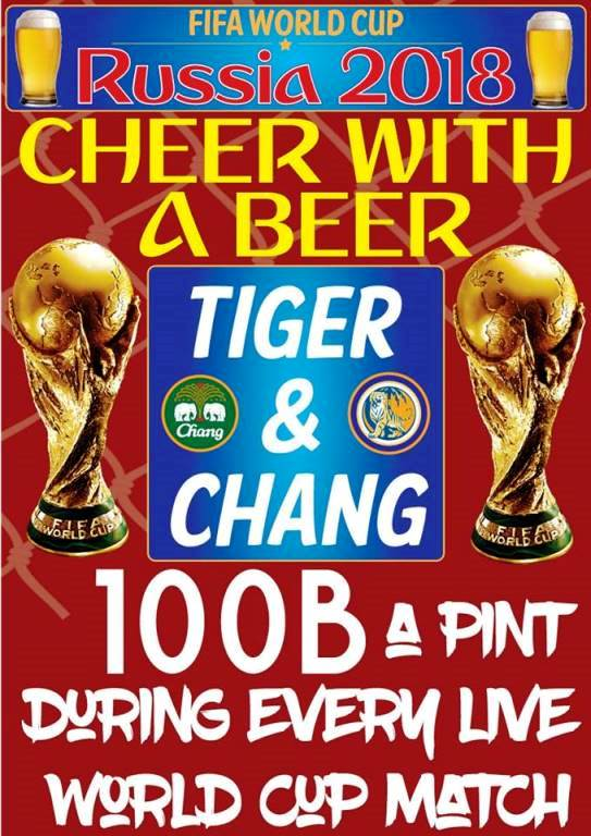 cheer with a beer - FIFA World Cup Fever!