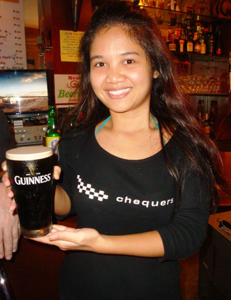 CHEQUERS PUB - SERVICE WITH A SMILE!