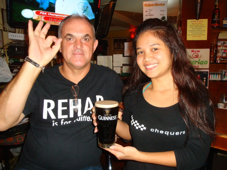 CHEQUERS PUB ARE PLEASED TO SEE THE RETURN OF GUINNESS