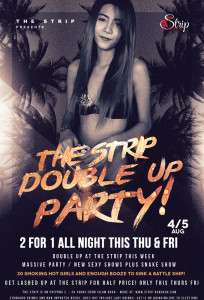 double up party at the strip bangkok