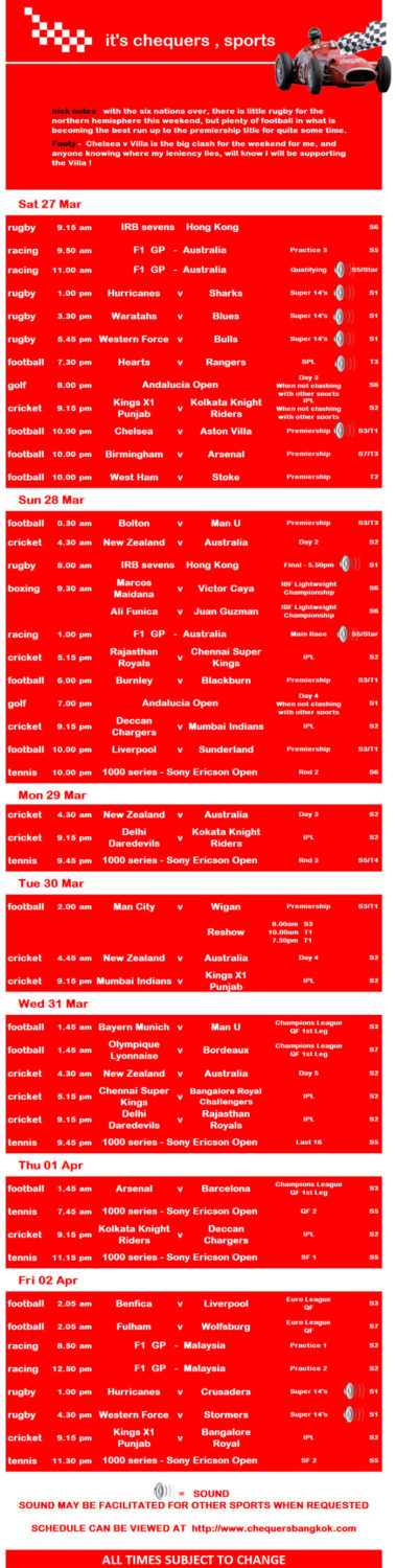 img 00013 - Chequers Pub Sports Schedule