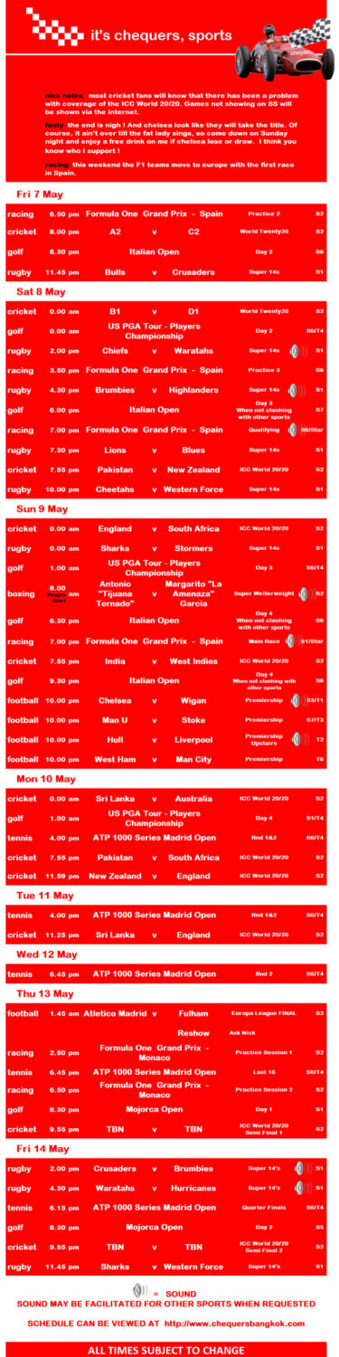 img 00018 - Chequers Pub Sports Schedule