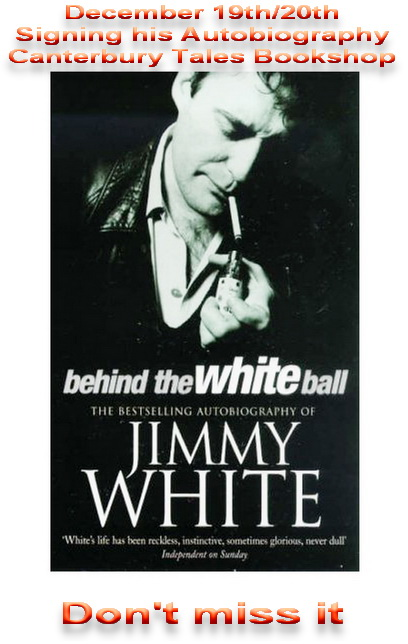 jimmy white1 - Pattaya Book Signing With Jimmy 'Whirlwind' White