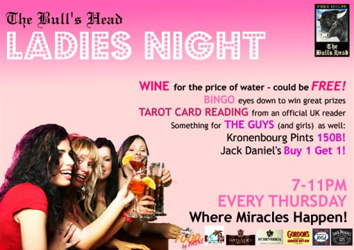 Bull\'s Head Pub - Ladies Night