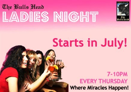 Ladies Night and the feelings right...