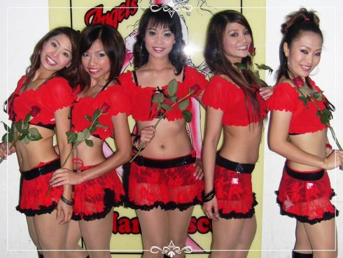 'ANGELS' SEXY THAI DANCERS, NANA DISCO, BANGKOK
