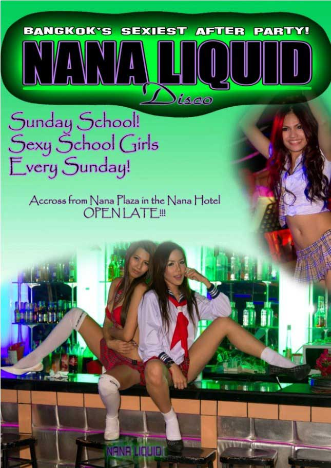 nana liquid sexy sunday school - Sexy Sunday School At Nana Liquid Disco