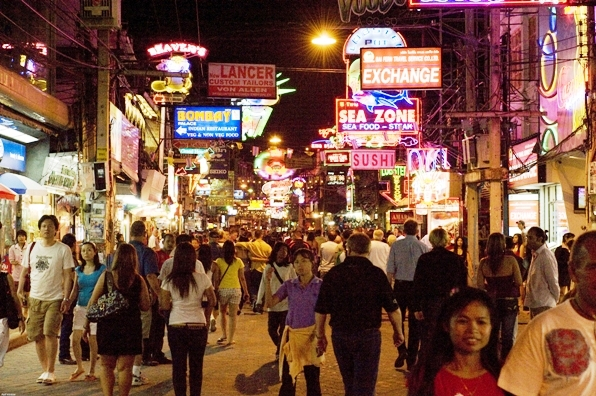 It is twilight in Pattaya, as you prepare to enter the Testoster-Zone!