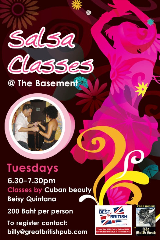 salsa night copy - Sexy Salsa Dance Classes In Bangkok