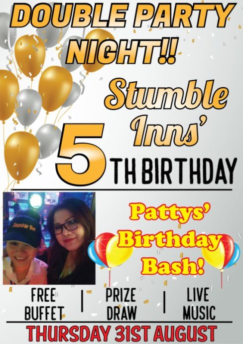 stumble inn birthday bash - Bangkok & Pattaya Parties Tonight