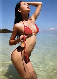 sexy thai model in bikini
