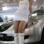 thai motor show babe in white 150x150 - Thai Motor Show Models - Hot Pics!