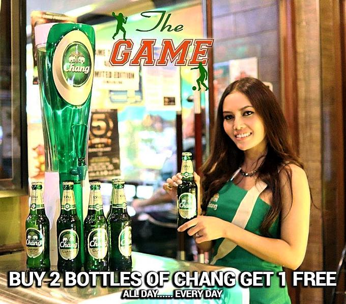the game chang special promo 1 - Daily Chang Beer Promotion