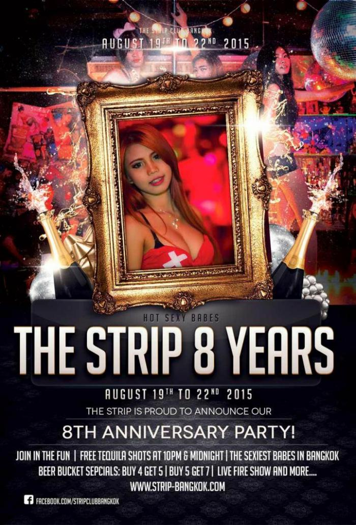 the strip 8th anniversary party - ANNIVERSARY PARTY AT THE STRIP