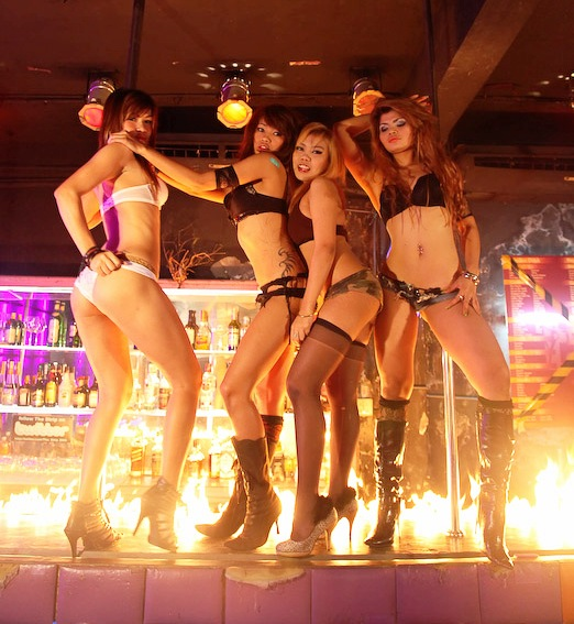 THE STRIP PATPONG BANGKOK THAILND