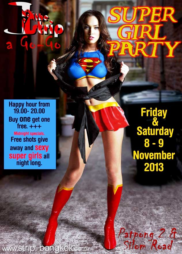 the strip super girls party - Super Girl Party At The Strip GoGo Bar